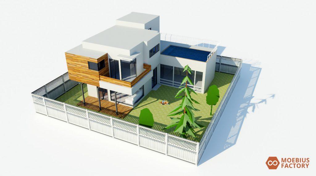 Rendus 3d architecture