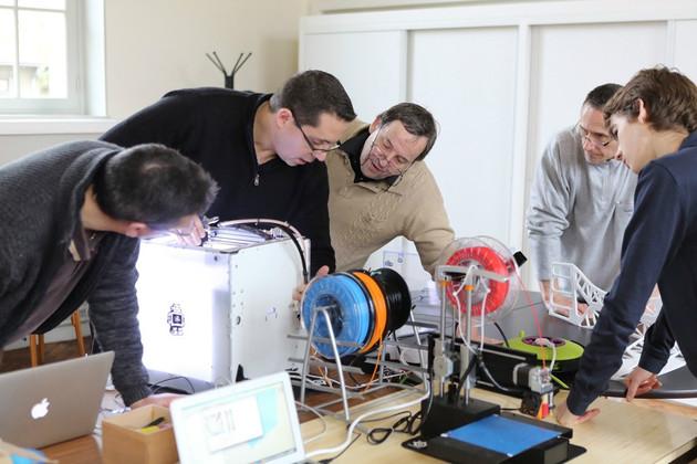 Fablab Moebius - Démonstration d'impression 3D